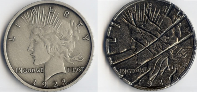 every coin has two faces The 5 ounce versions are still a quarter face value  these two specific coins  have mintages below 100,000 and also trade in excess of $200  most every  coin from this series trades at or near the gold prices, despite the.